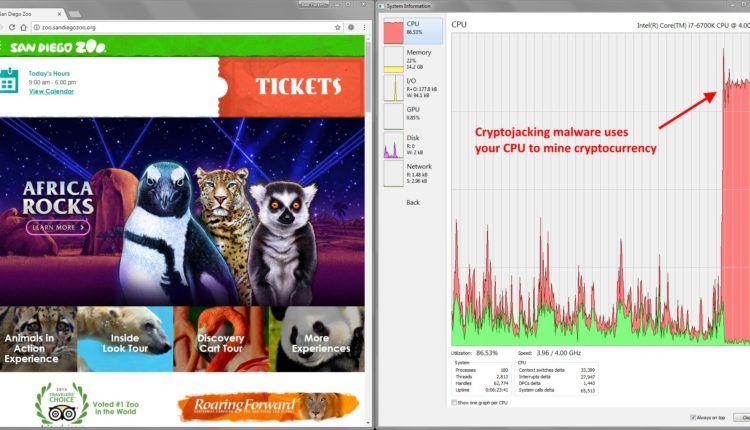 ما يقرب من 400 موقع دروبال مصابة ببرامج خبيثة تقوم بتعدين العملات الرقمية