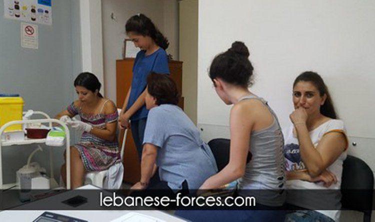 بلدية نهر ابراهيم تنظم حملة لفحص فقر الدم بشكل مجاني