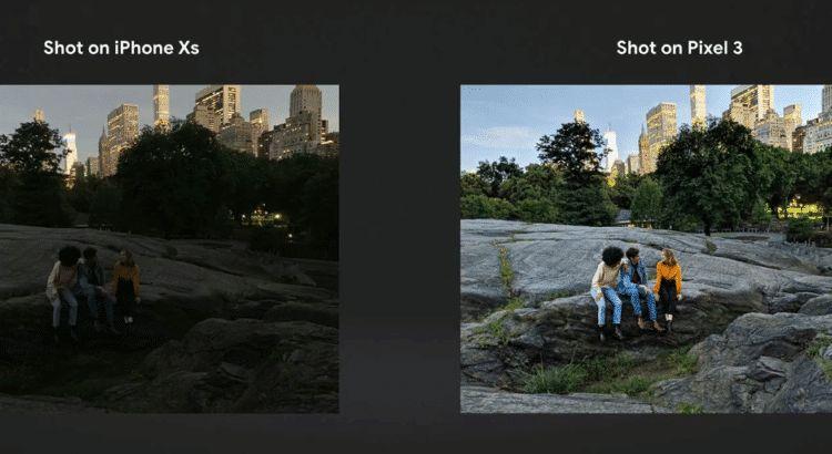 مقارنة شاملة بين هاتفي Pixel 3 XL و iPhone Xs Max