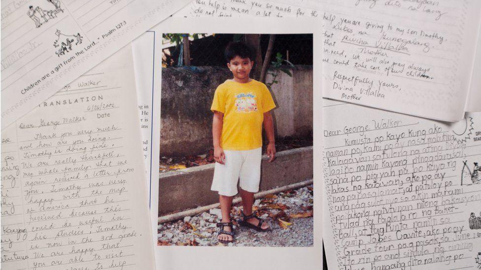 الطفل الفلبيني تيموثي