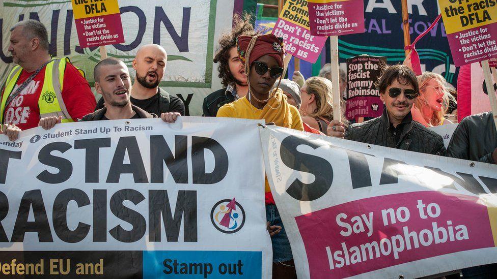 مظاهرة مناهضة لكراهية الإسلام