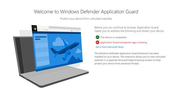 مايكروسوفت تطلق امتداد الحماية Windows Defender لمتصفحي كروم وفايرفوكس
