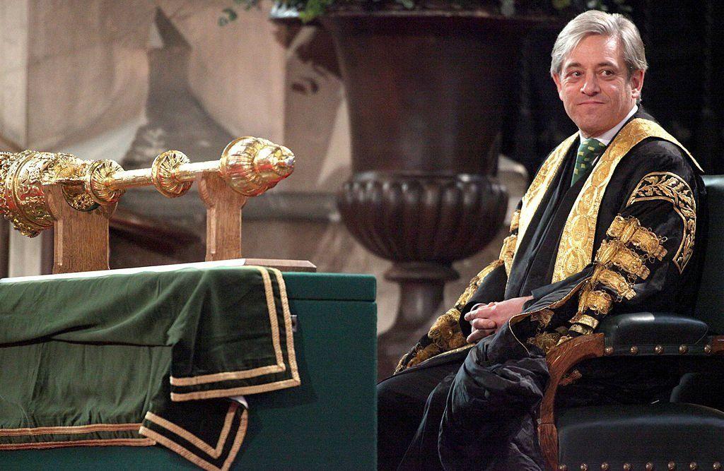 رئيس مجلس العموم البريطاني جون بيركو