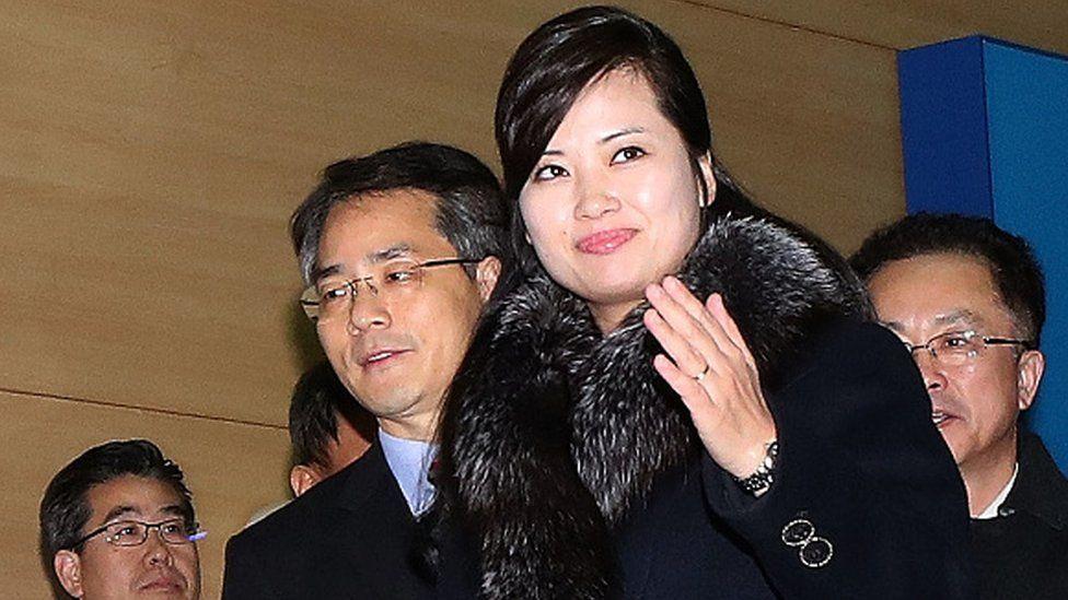 قادت هيون سونغ-وول وفدا من كوريا الشمالية في زيارة إلى الجارة الجنوبية