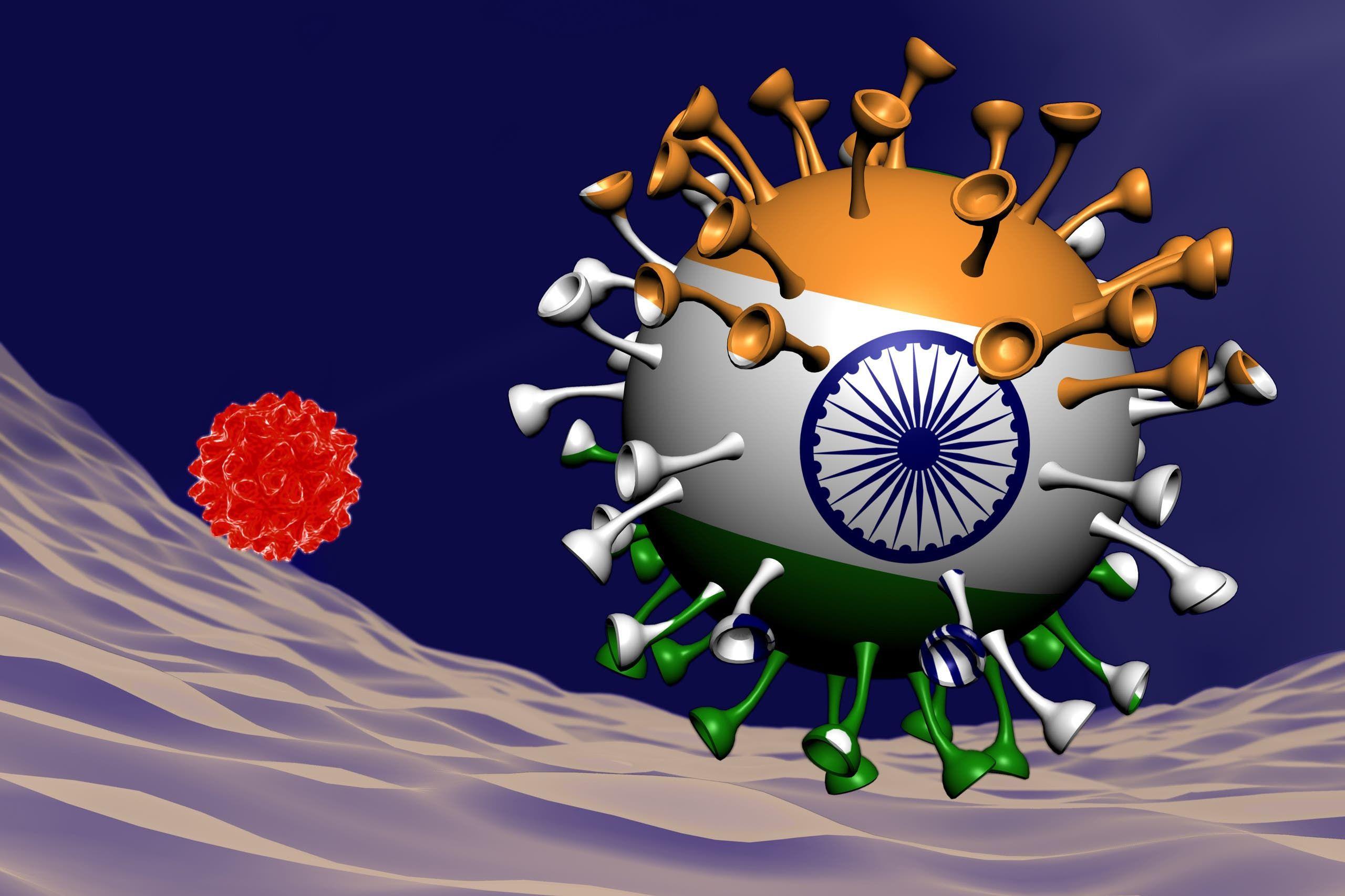تعبيرية عن المتحور الهندي
