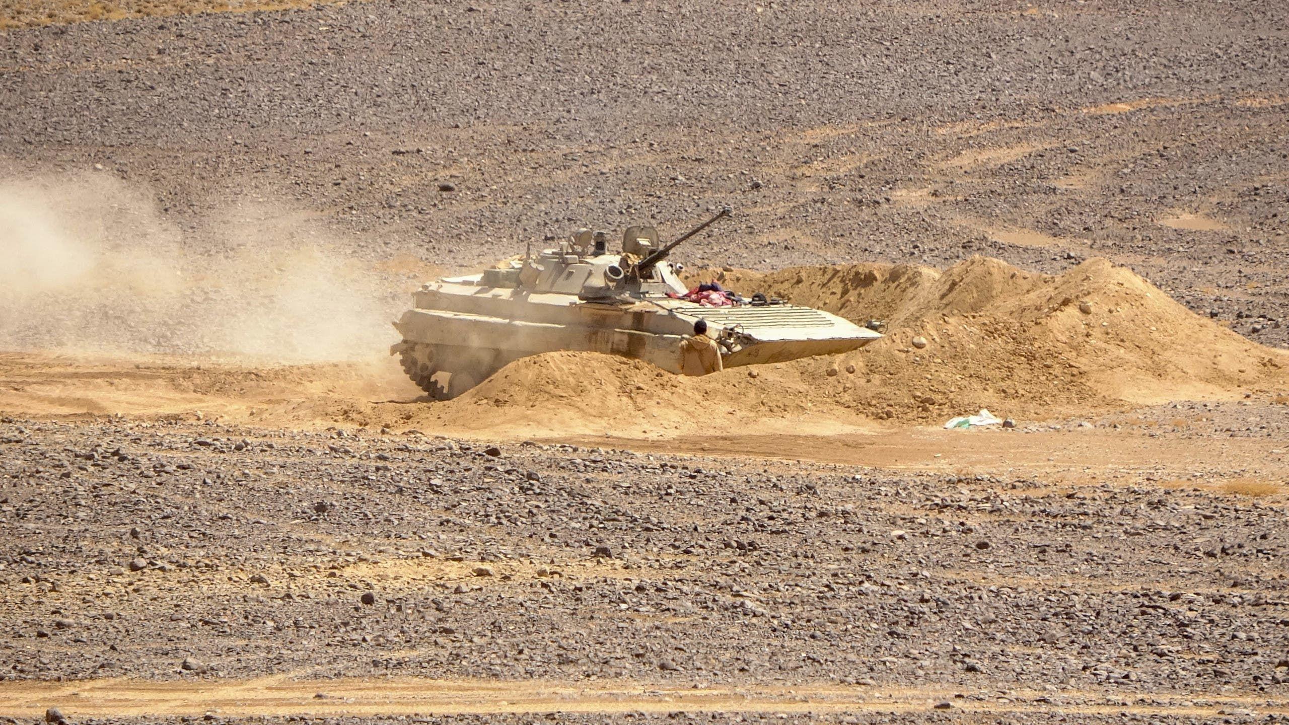 قوات من الجيش اليمني في مأرب (أرشيفية من فرانس برس)