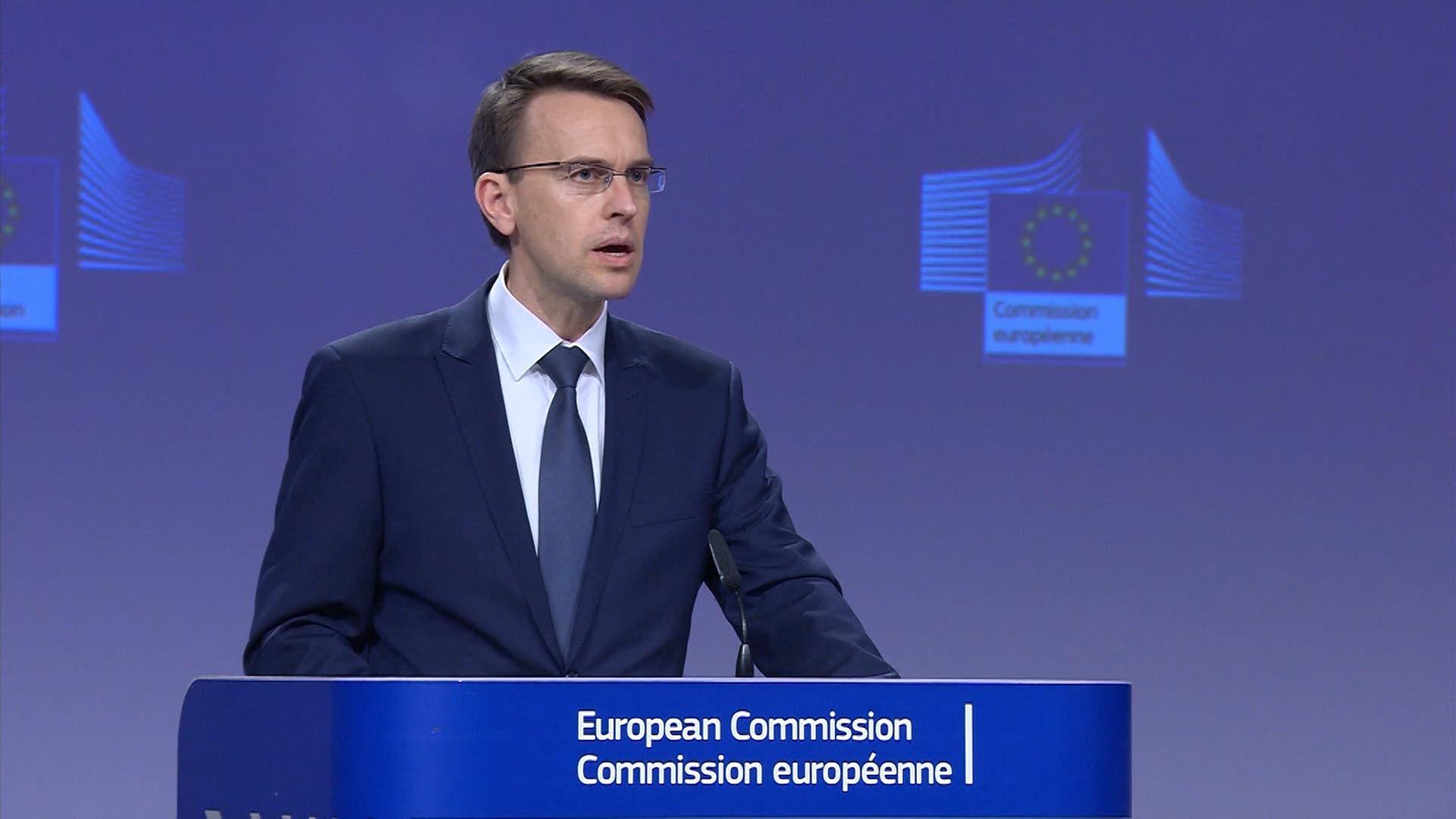 بيتر ستانو المتحدث باسم وزير خارجية الاتحاد الأوروبي (أرشيفية)