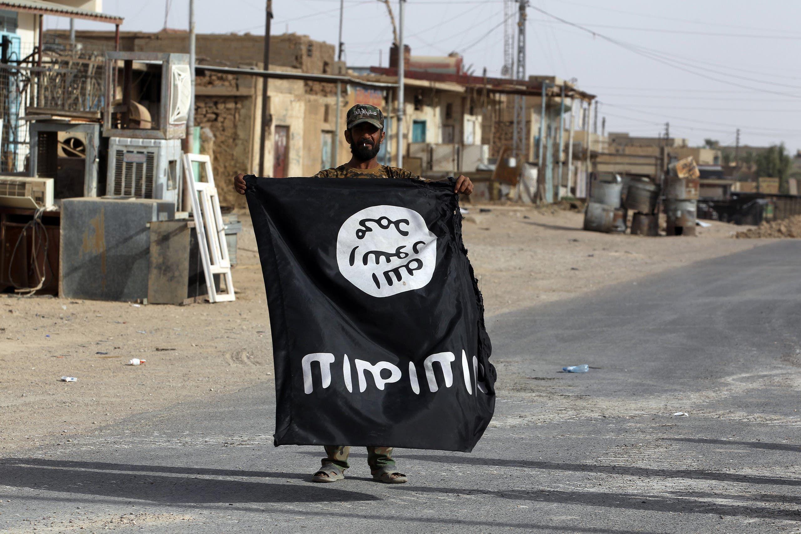 راية داعش في العراق (أرشيفية- فرانس برس)