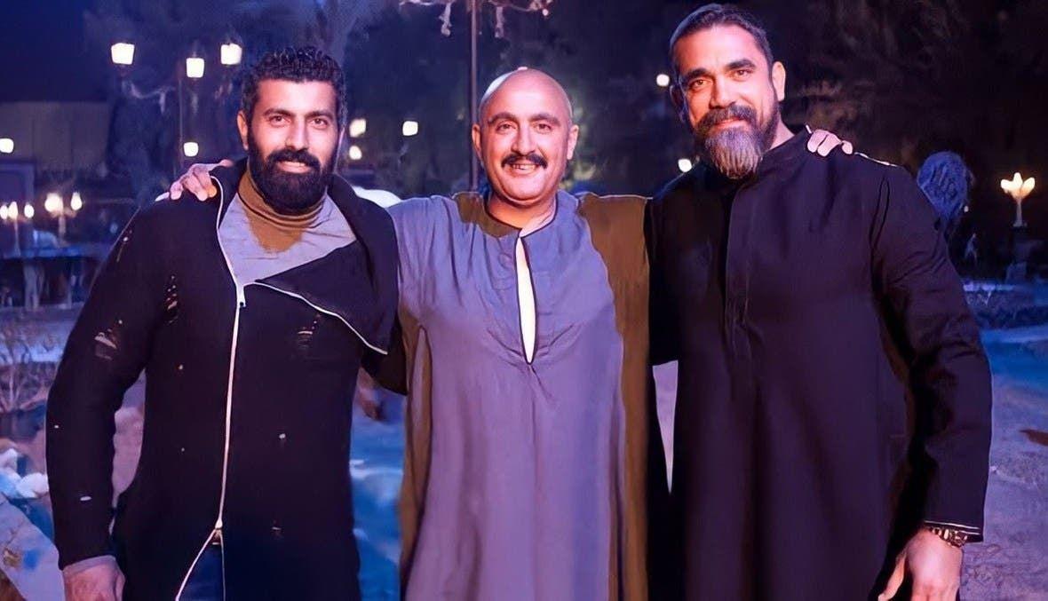 أمير كرارة وأحمد السقا ومحمد سامي