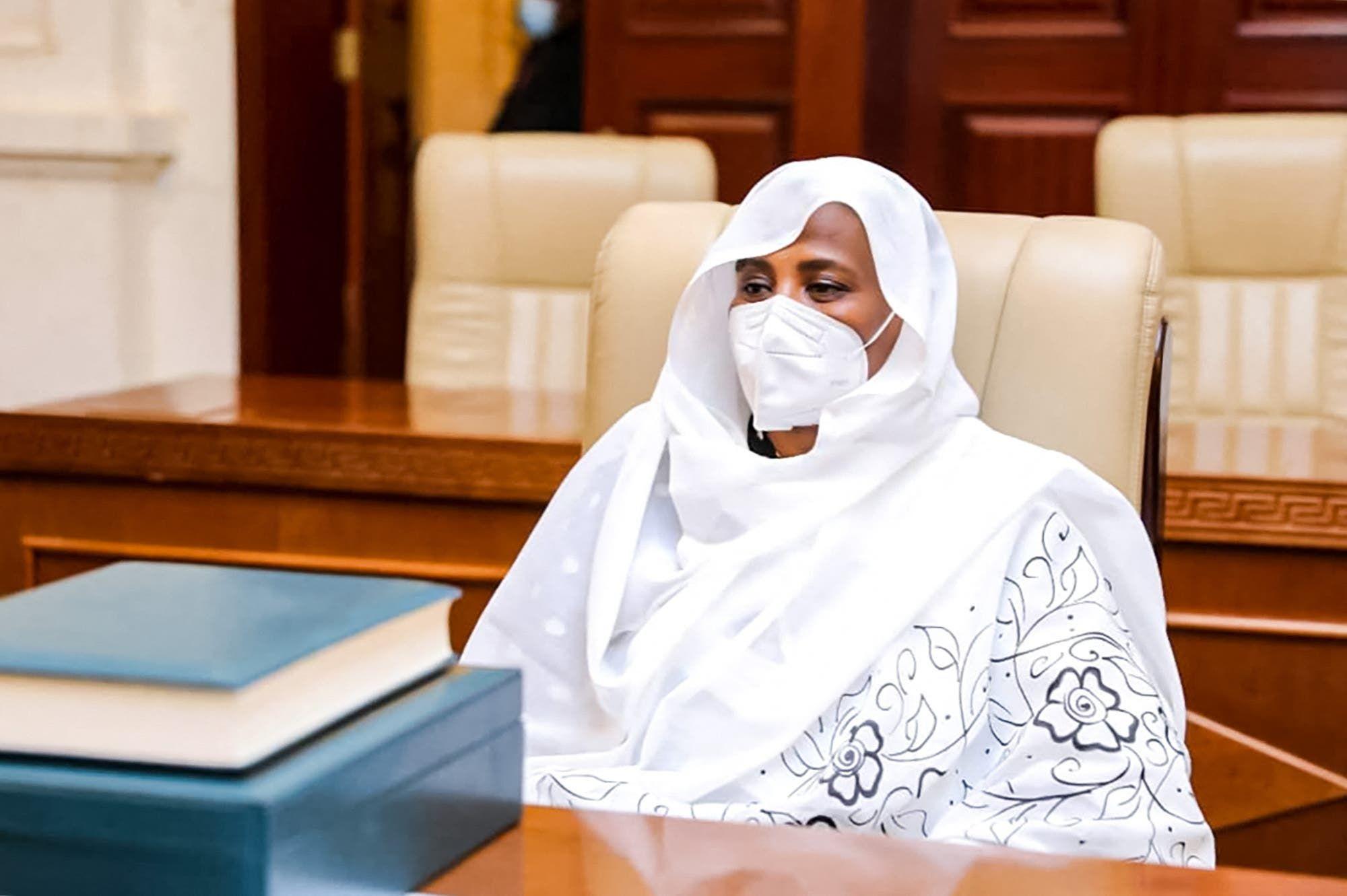 وزيرة الخارجية السودانية مريم الصادق المهدي