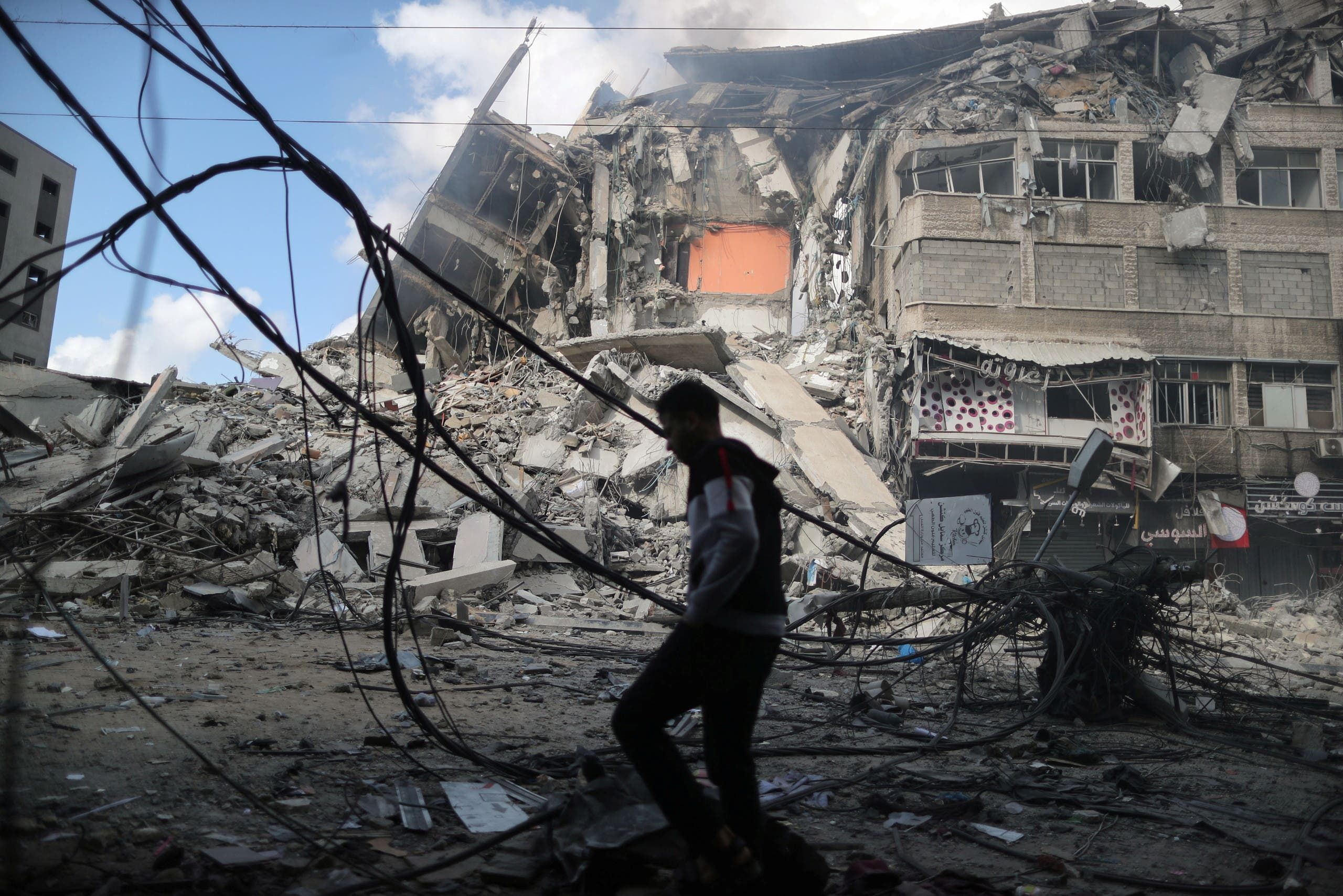 من غزة (رويترز)