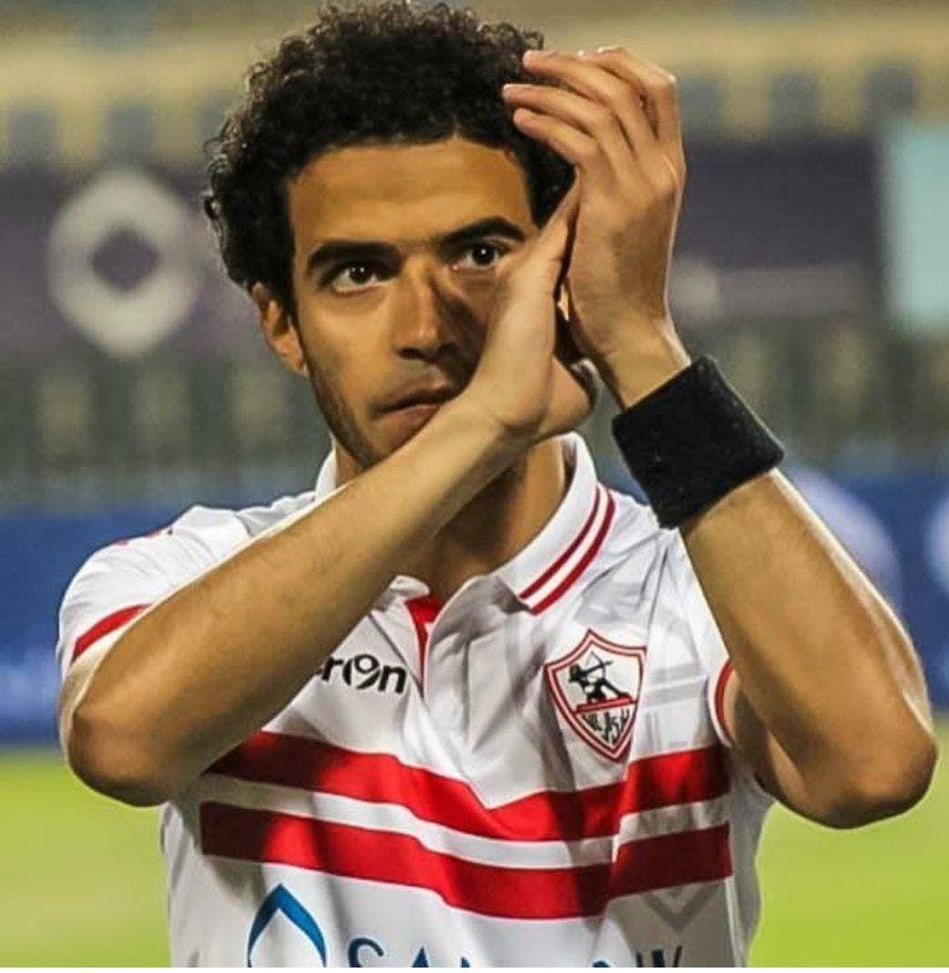 عمر جابر بقميص الزمالك
