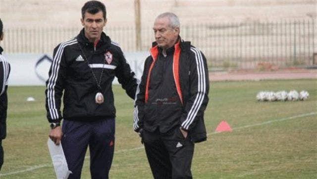 روي ألميدا مع جوزفالدو فيريرا