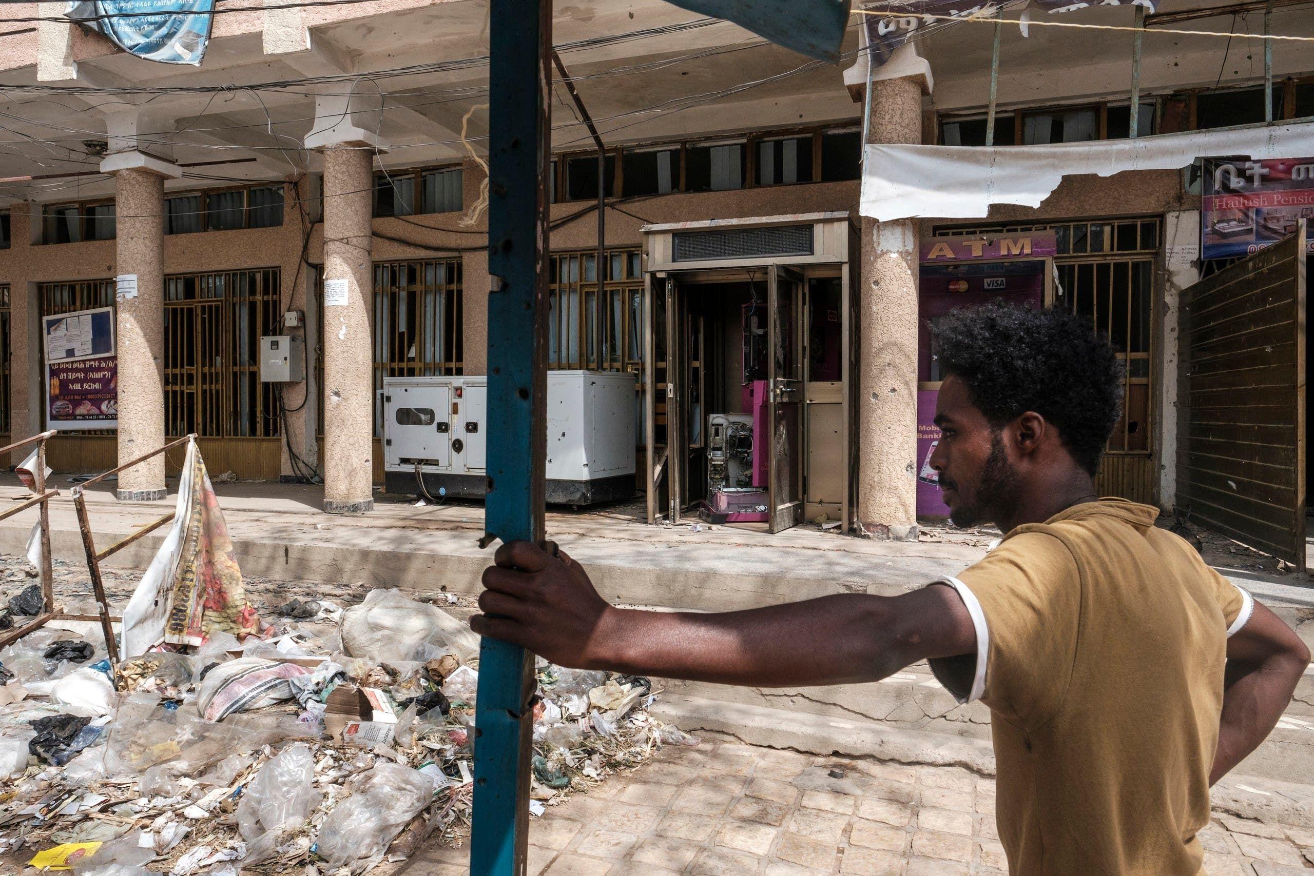 الدمار في تيغراي