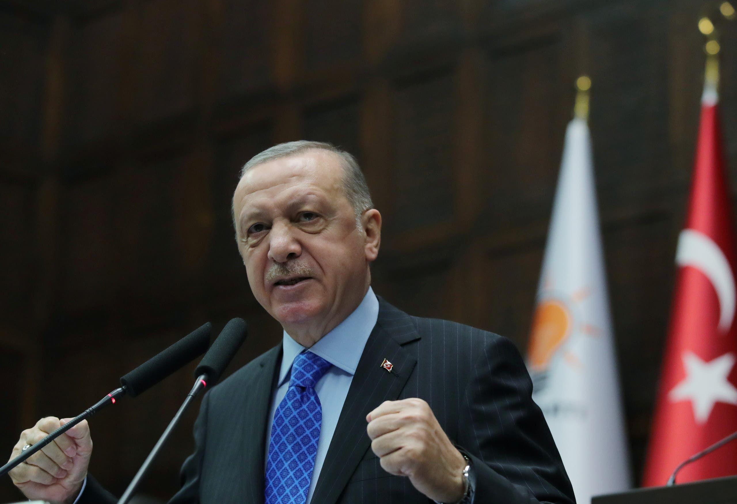 الرئيس التركي رجب طيب أردوغان (رويترز)