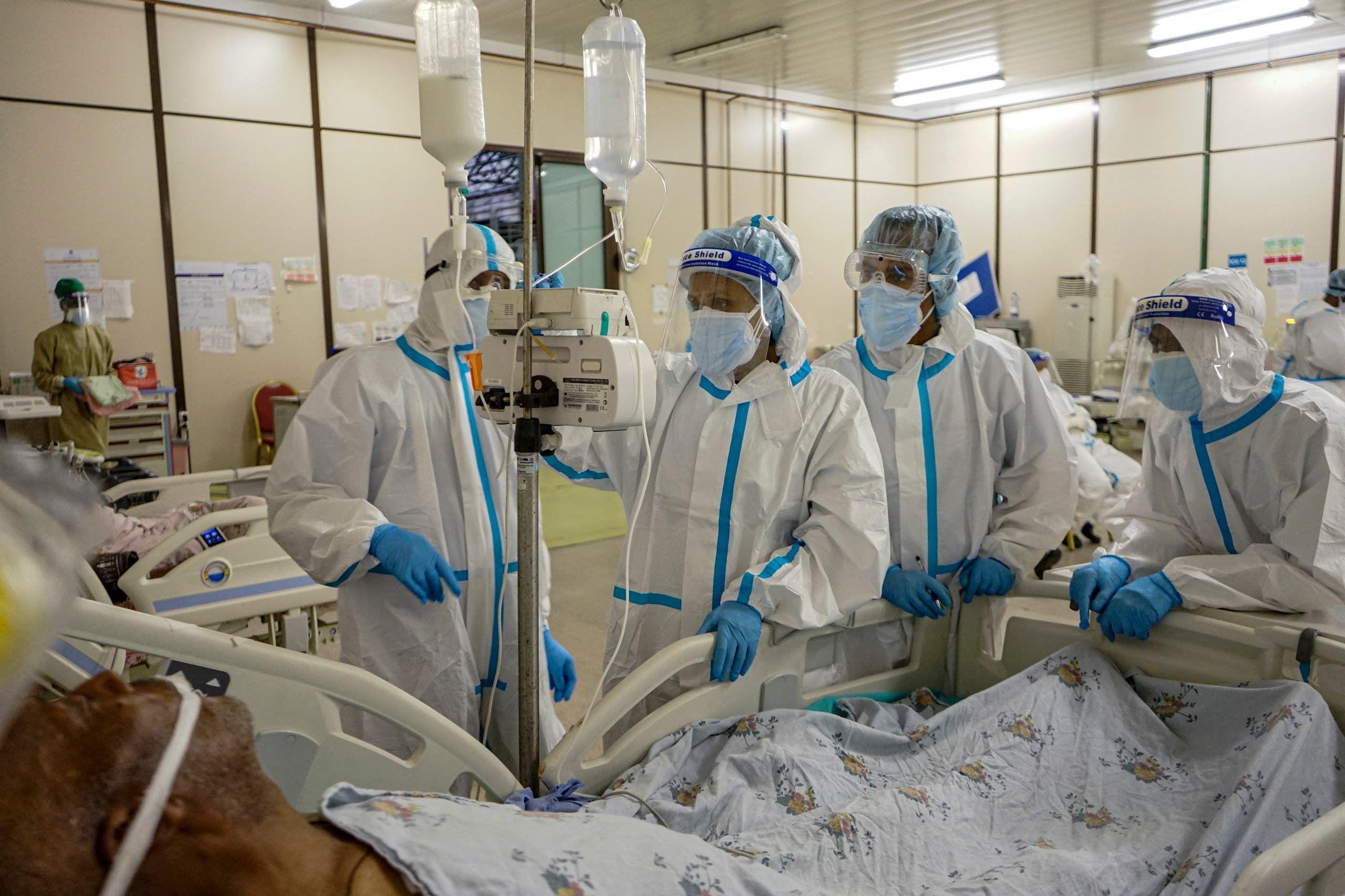 مصاب بكورونا في غرفة عناية مركزة في أديس أبابا