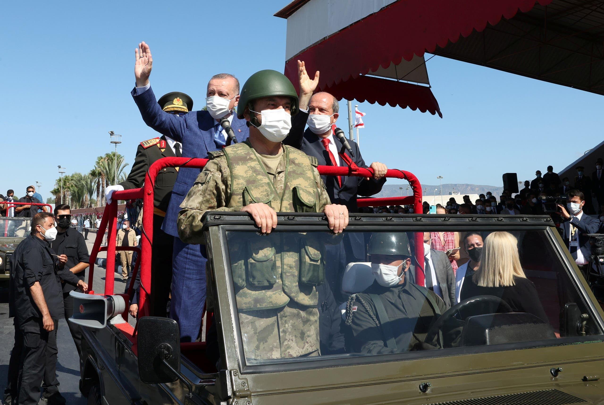 من زيارة أردوغان لشمال قبرص اليوم