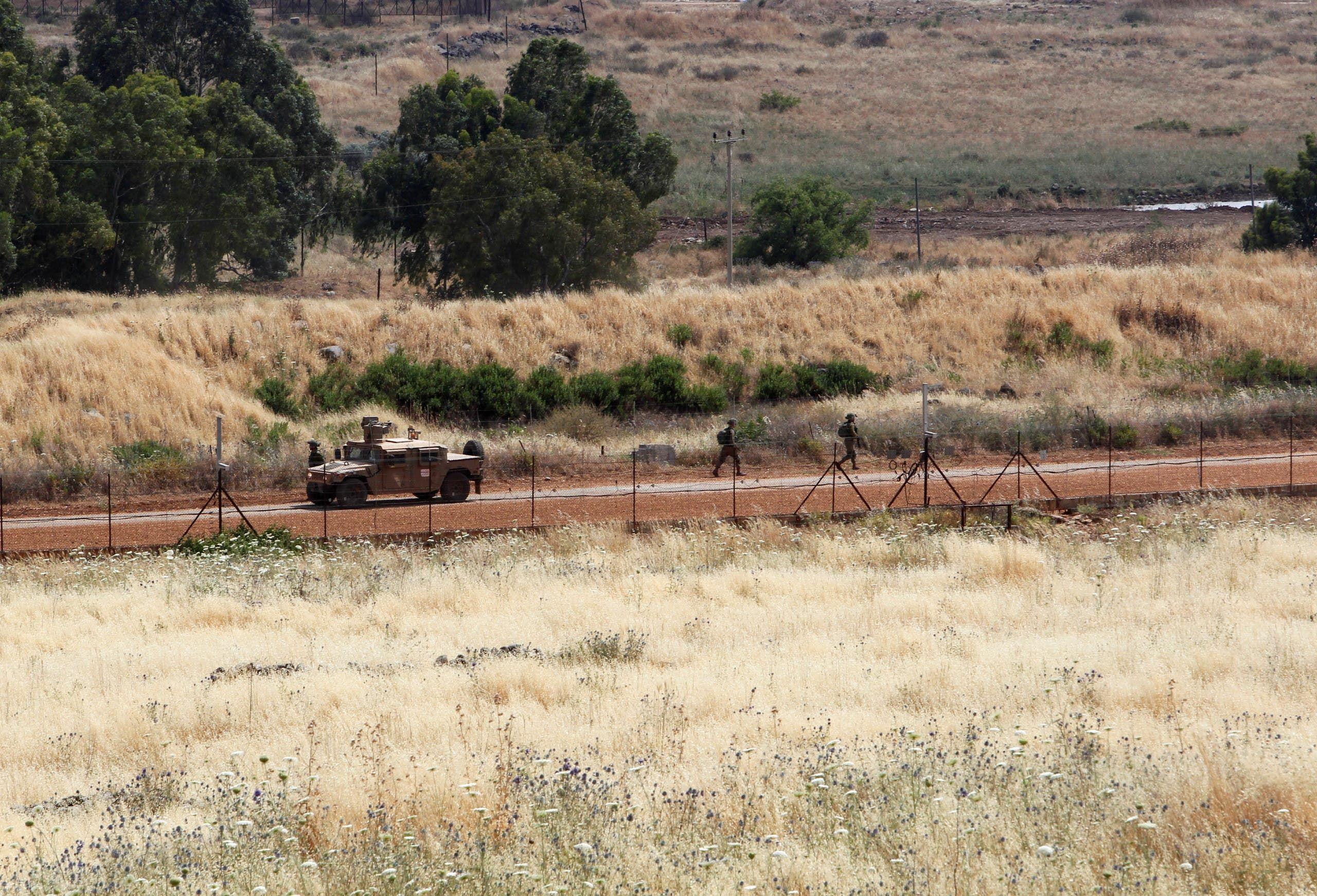 من الحدود اللبنانية الإسرائيلية (أرشيفية من رويترز)