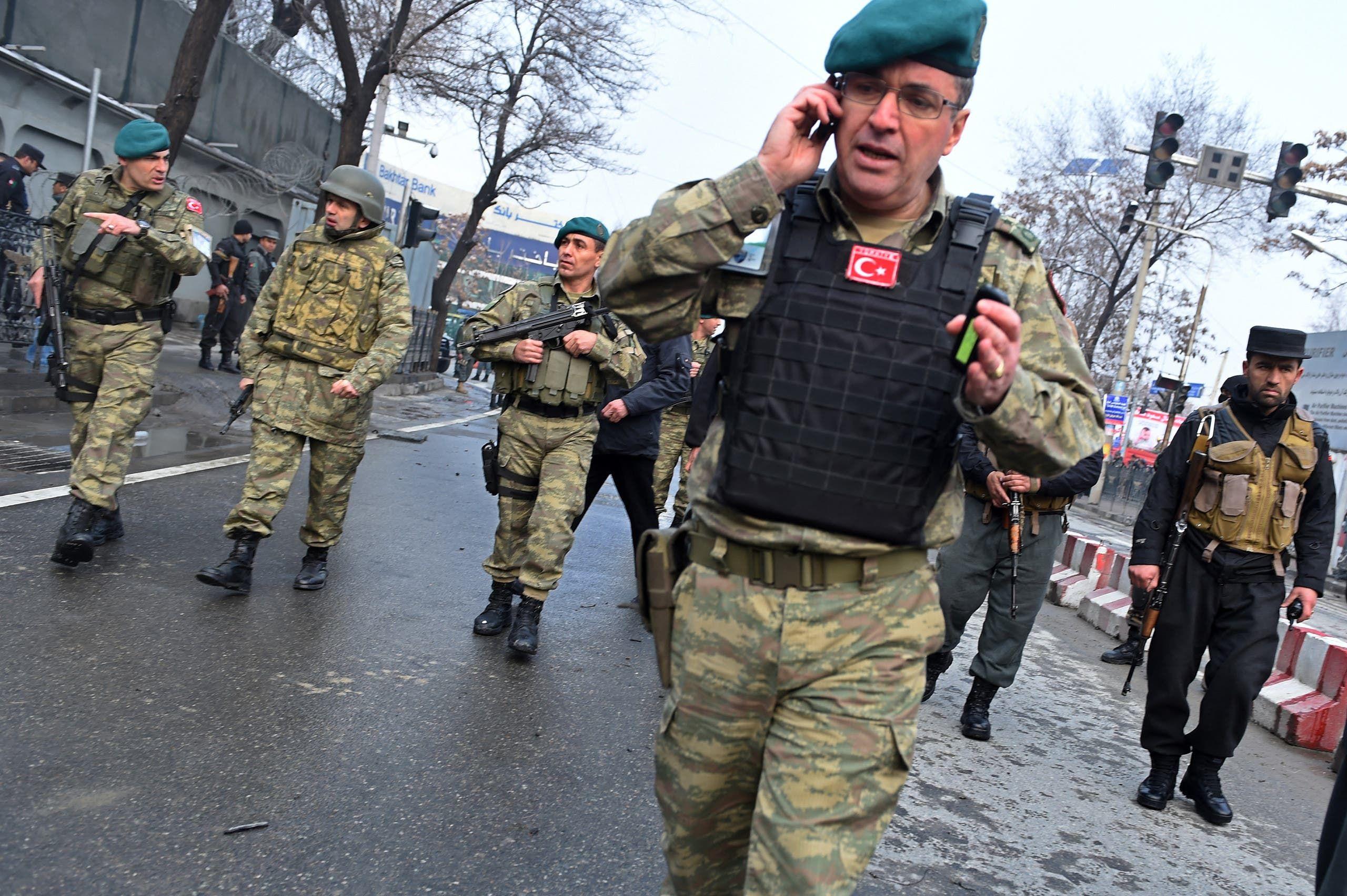 جنود أتراك في كابل (أرشيفية)