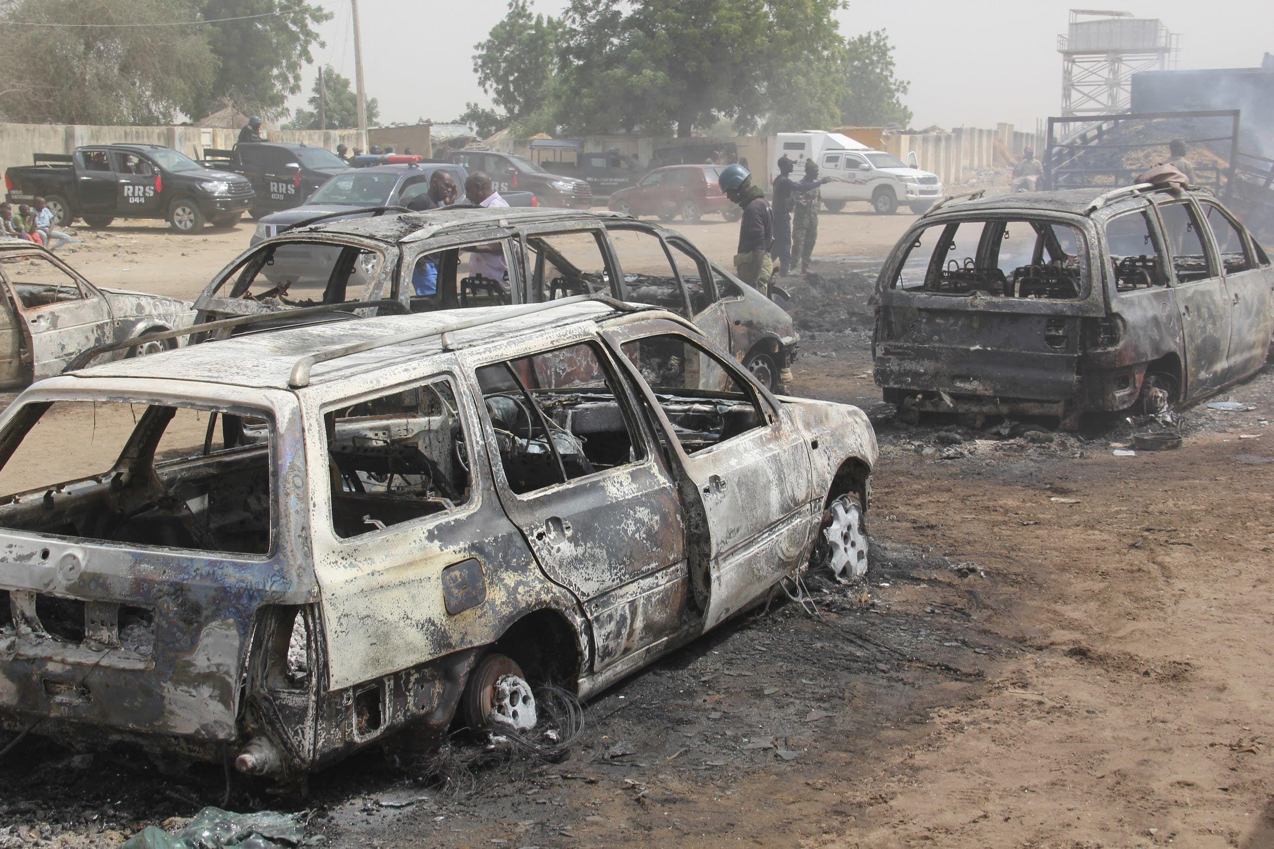 هجوم سابق لداعش في شمال شرق نيجيريا (أرشيفية)