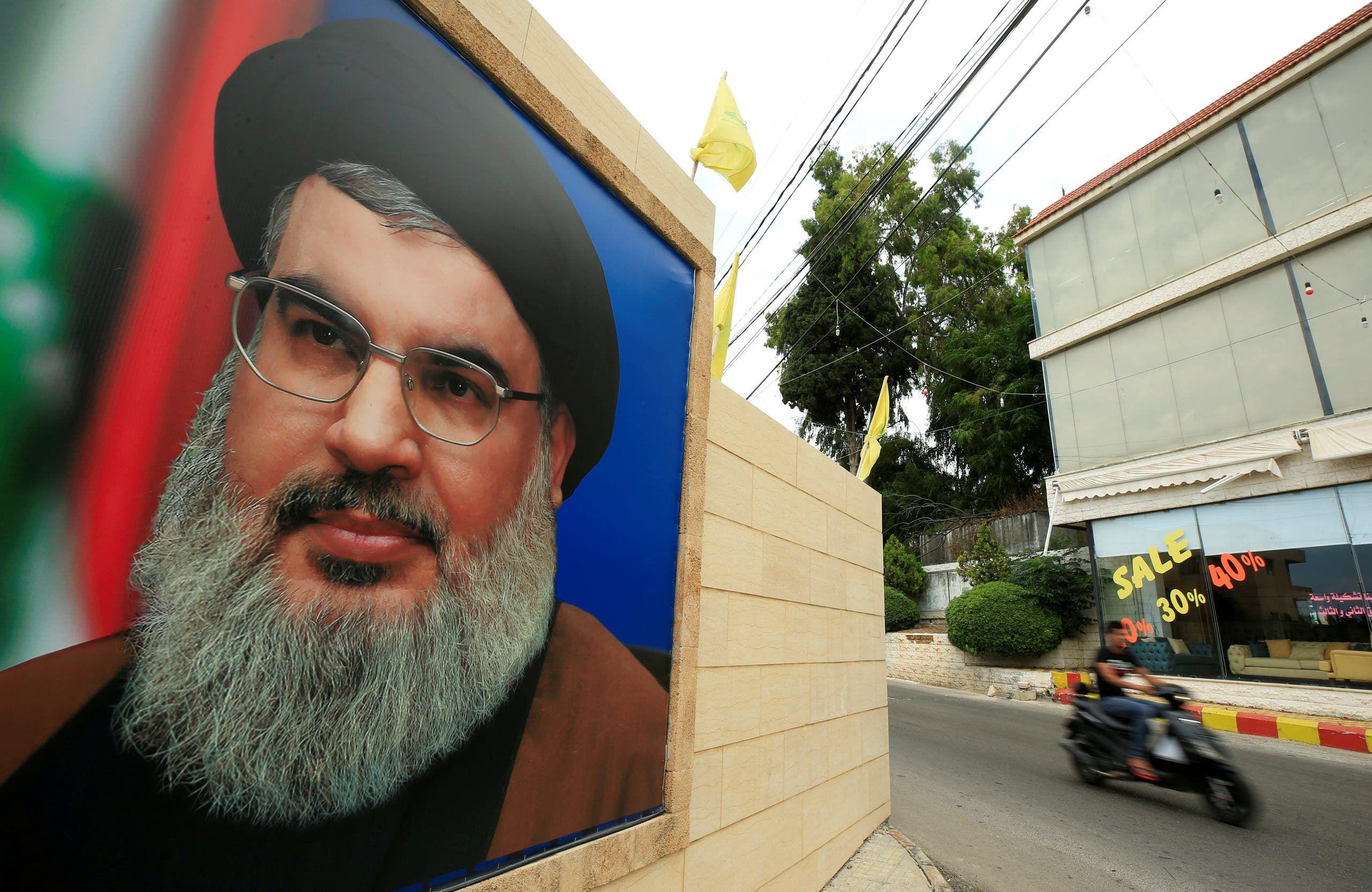 زعيم حزب الله حسن نصرالله(أرشيفية- رويترز)