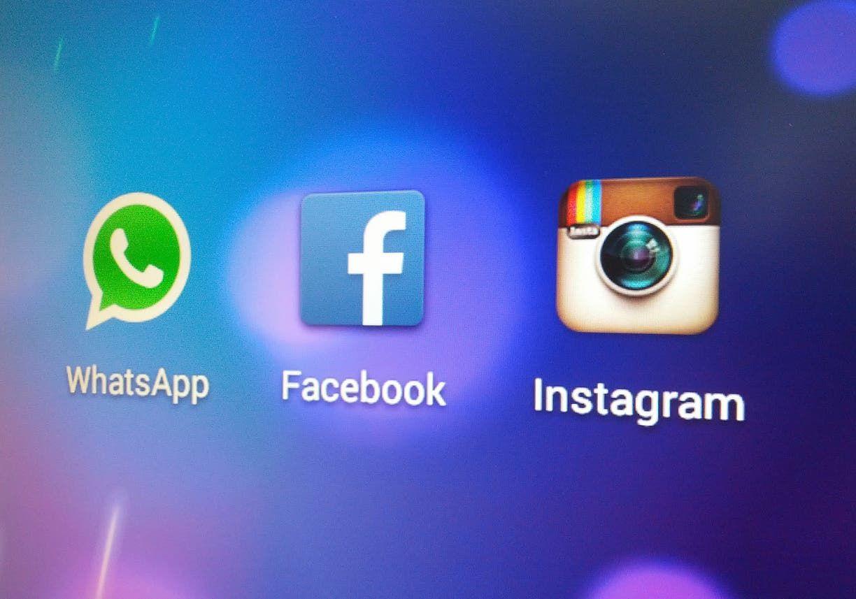 تطبيقات تابعة لشركة فيسبوك