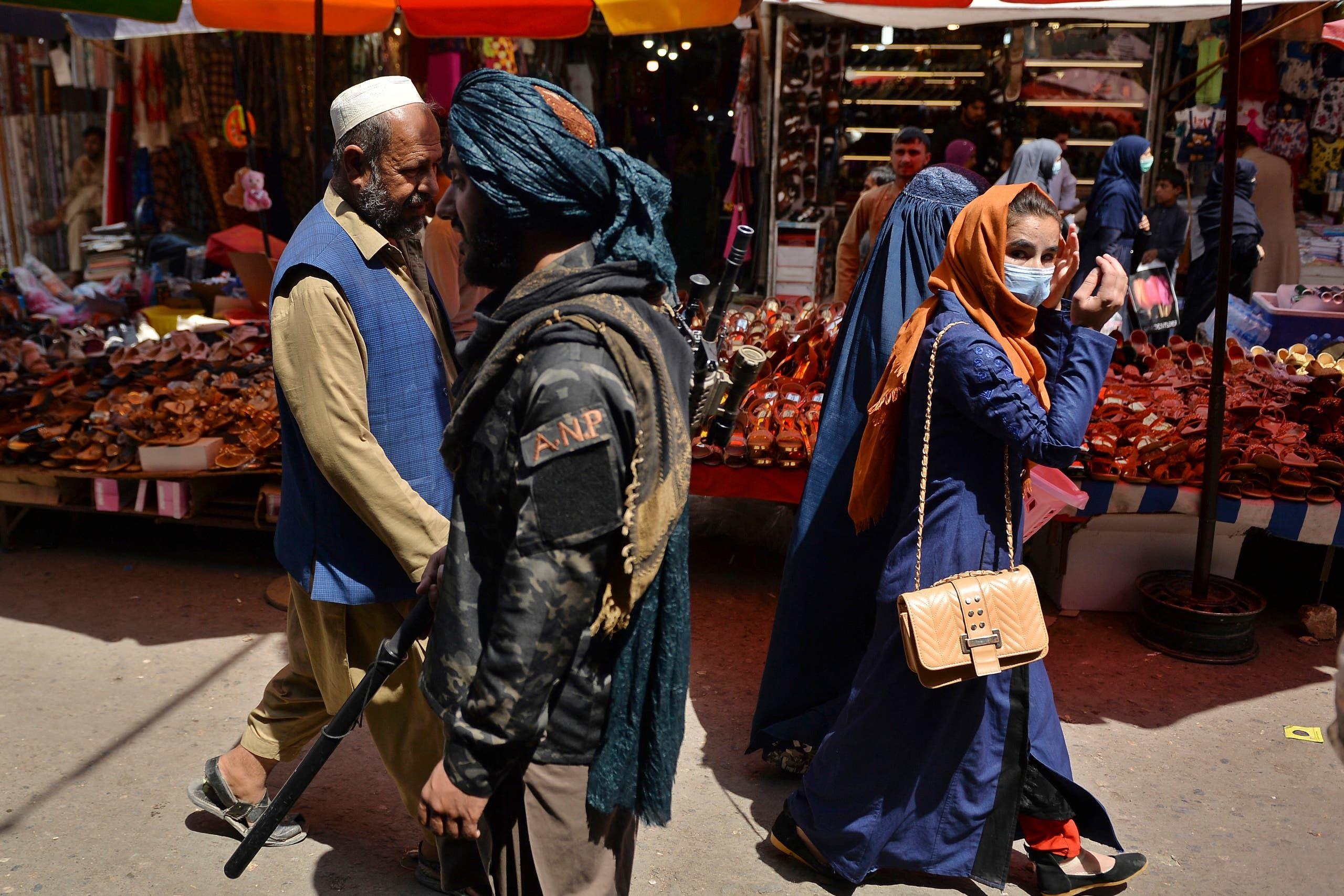 من أحد الشوارع في كابل (أرشيفية- فرانس برس)