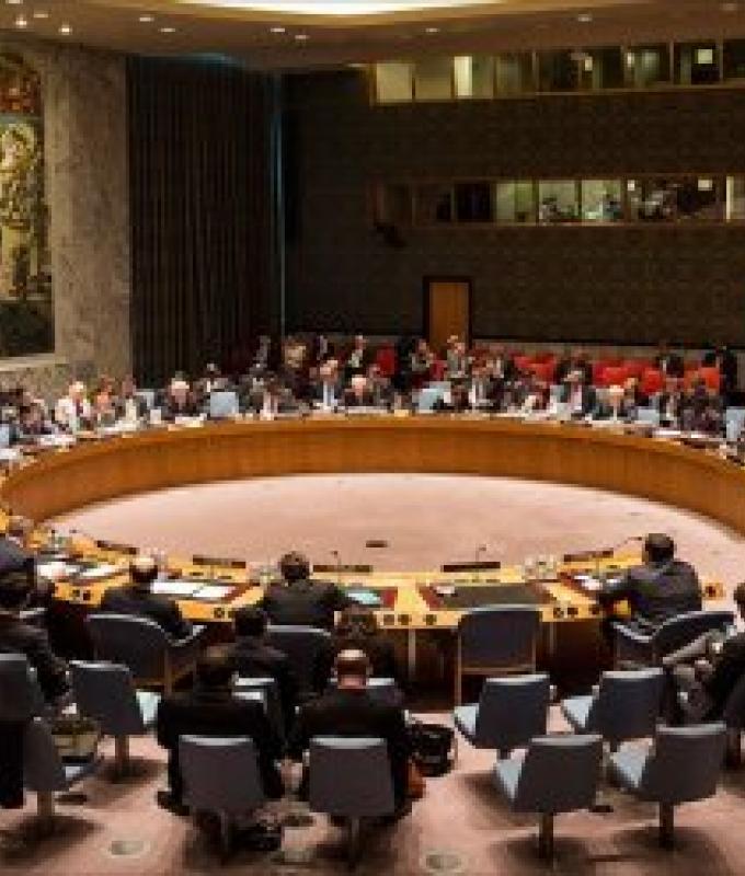 مشروع قرار في مجلس الأمن لإدانة إيران