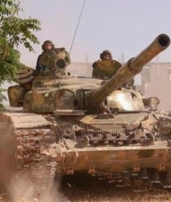 نظام الأسد يتهم التحالف الدولي بقصف مواقع له شرق سوريا