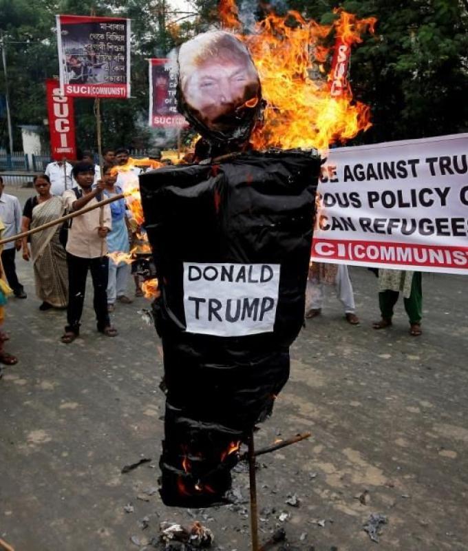 ترامب: المهاجرون غزاة يسعون لاقتحام أميركا