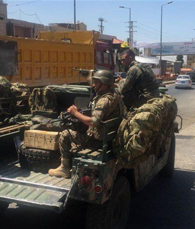 الجيش في بريتال: مقتل 8 مسلحين وتوقيف 41 شخصًا من مجموعة علي زيد اسماعيل