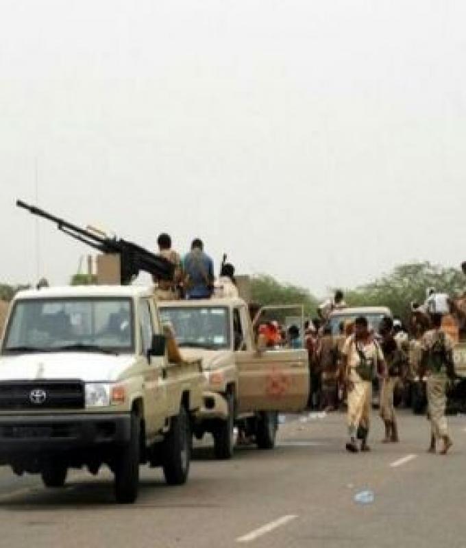 اليمن | ألوية العمالقة تعلن استكمال تطهير مزارع وجيوب المليشيا غربي الدريهمي