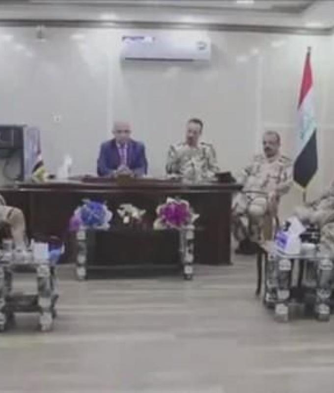 العراق | قائد عمليات نينوى: لن نسلم إدارة أمن المحافظة