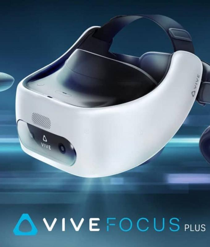 HTC تصعد المنافسة مع فيسبوك وتعلن عن نظارة Vive Focus Plus…