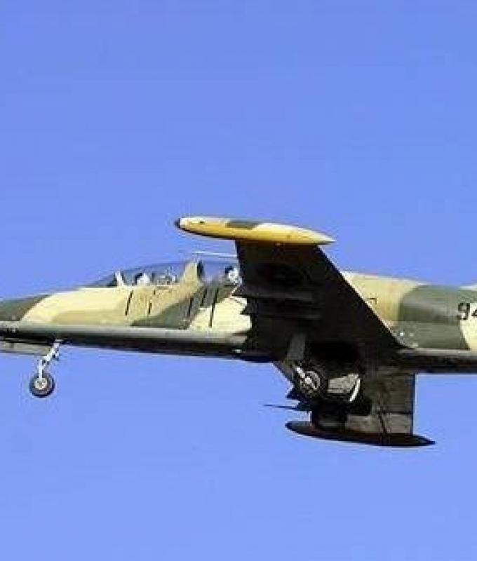غارات جوية للجيش الليبي فوق طرابلس