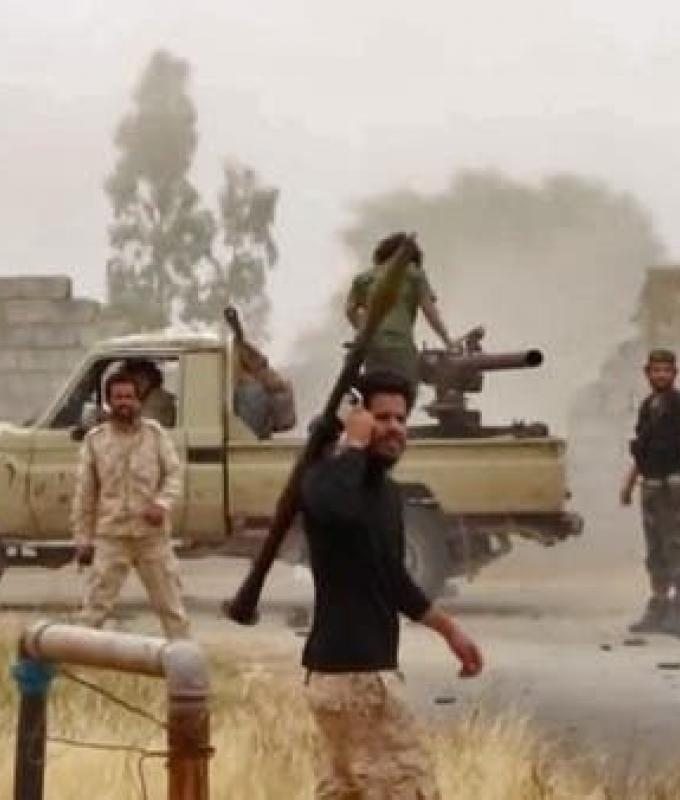 انشقاق في قوات الوفاق.. كتيبة تلتحق بالجيش الليبي
