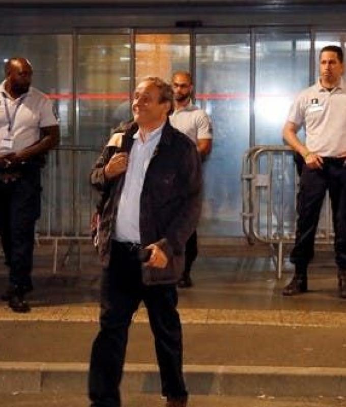 إطلاق سراح بلاتيني بعد استجوابه حول مونديال قطر