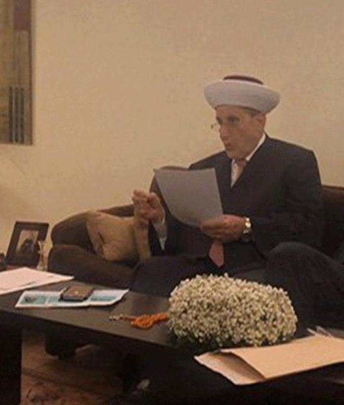 بالصور: سامر كبارة يعقد قرانه على إبنة الرئيس بري