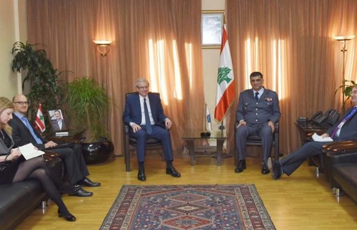 """عثمان استقبل مدير مركز الازمات في """"الخارجية"""" الفرنسية"""