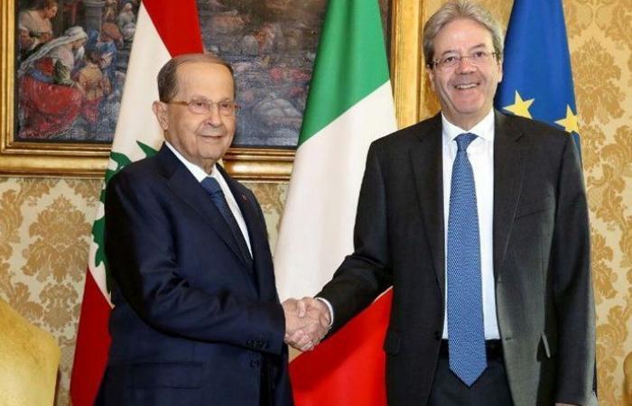 عون يختتم زيارته لروما بلقاء رئيس الحكومة: لايطاليا تأثير مباشر على قرارات المنظمة الدولية
