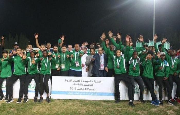 آل الشيخ يهنئ أبطال ألعاب القوى للناشئين