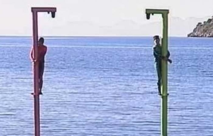 50 ألف دولار مقابل احتضان عمود فوق الماء لمدة 14 ساعة