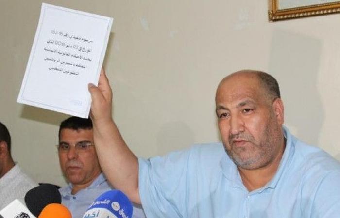 محكمة جزائرية تقرر حبس رئيس وفاق سطيف