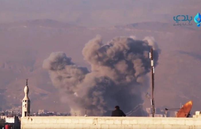 مقتل ستة مدنيين بغارة للنظام على غوطة دمشق