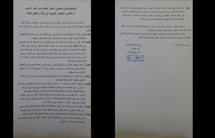 قضية مسجد غدراس تتفاعل… والبلدية توضح قصة الإستقالات