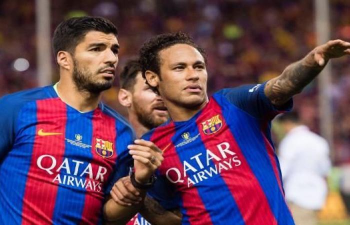 لويس سواريز يستبعد انتقال نيمار إلى ريال مدريد