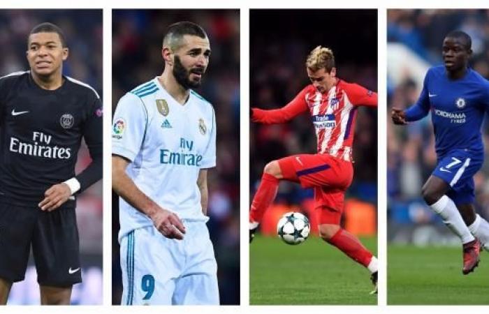 سيطرة فرنسية على قائمة ترشيحات الكرة الذهبية 2017