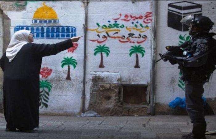 لاعب برشلونة يتضامن مع القدس وفلسطين