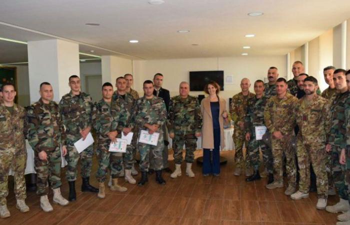سفارة ايطاليا: اختتام دورة تدريبية لصالح الحرس الجمهوري