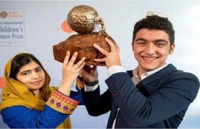 طفل سوري يفوز بجائزة السلام الدولية للأطفال للعام 2017
